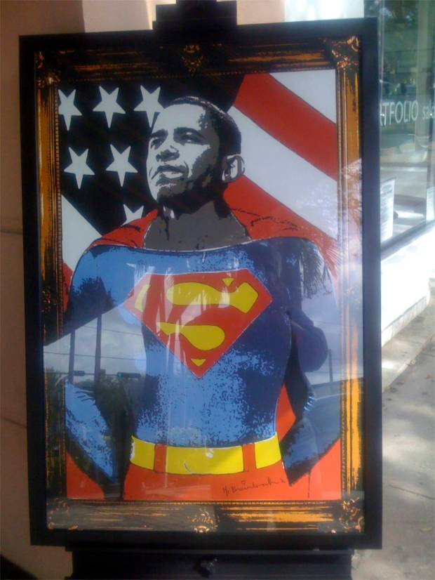 to the rescue!! SuperObama