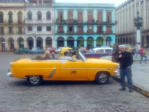 Don salutes the old car ingenuity of Cuba