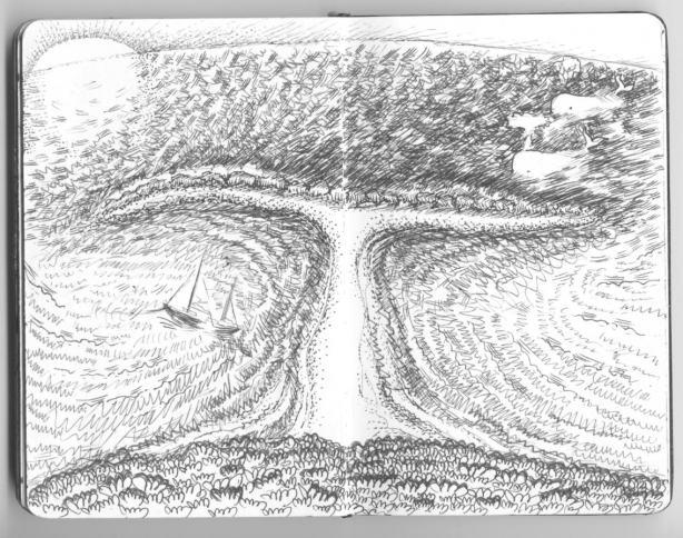 """playa baleena, """"the whale's tail"""" ..."""