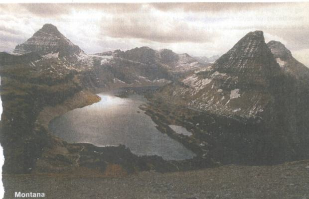 Glacier Park in early twenty-first century...some glaciers left