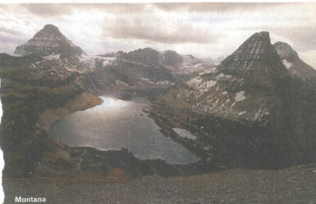Glacier Park in early twenty-first century...some glaciers left