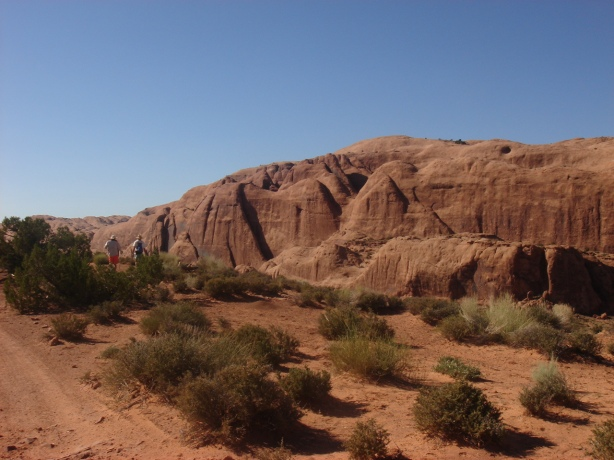 the red cliffs of moab, utah