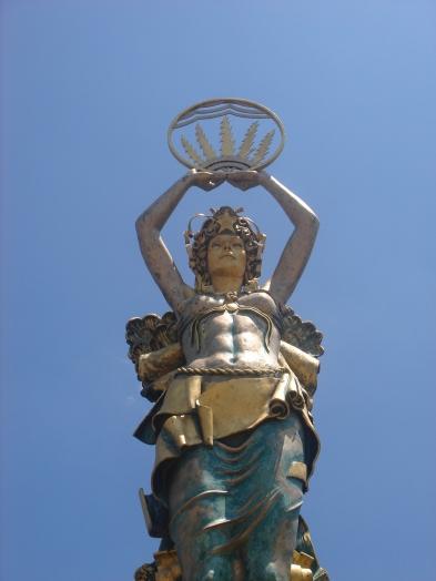 Civitas, the goddess of civilization