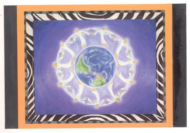 Heal The World Mandala