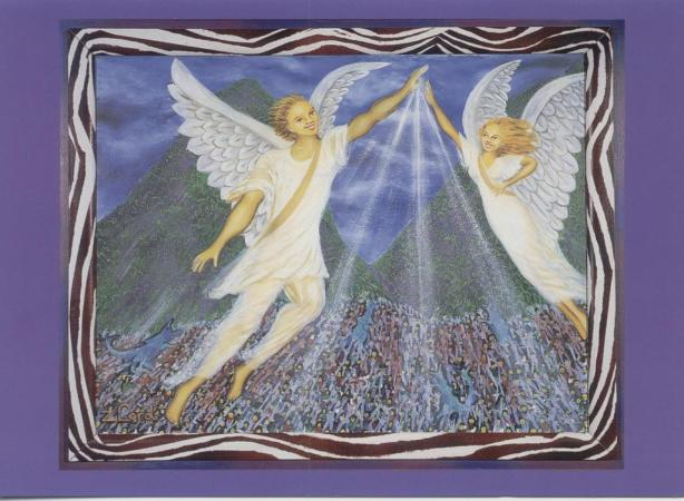 Each of is a (metaphorical) Guardian Angel of Earthly Life