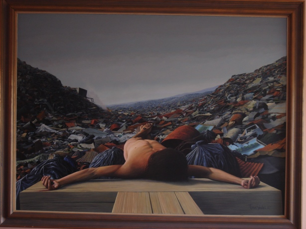 don't be overwhelmed by choices ... be aware of choosing (tomas sanchez painting, thanks!)