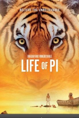 Kudos to LIFE OF PI