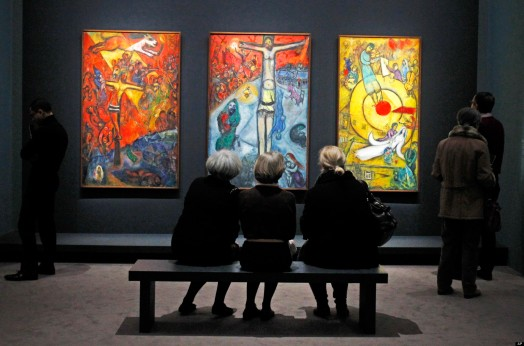 France Chagall Exhibit