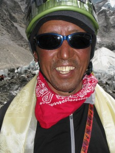 Apa Sherpa, 21 times summited Mt. Everest