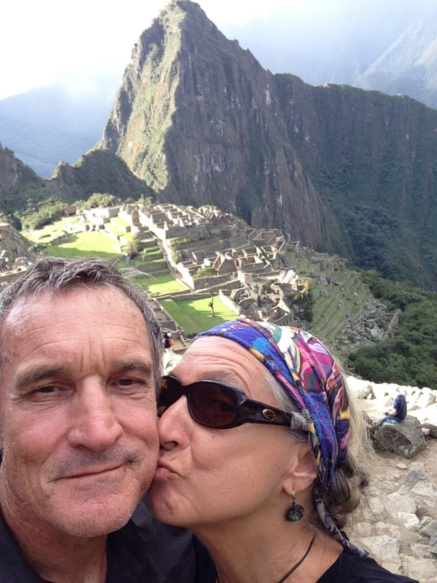 LordFlea and her consort at Matchu Picchu